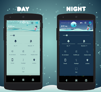 Winter Layers Theme Donate v1.9.7