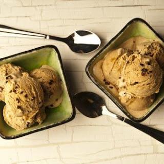 Homemade Mexican Cocoa Ice Cream.