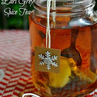 DIY Earl Grey Spice Tea.