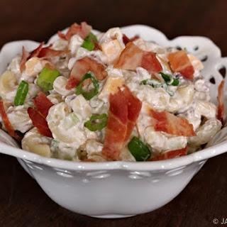Bacon and Cheddar Macaroni Salad