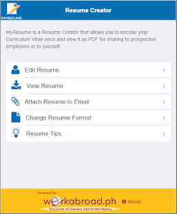 myresume resume creator apps on google play