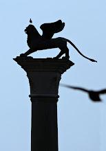 Photo: Benátky 2009 - Sloup s Markovým okřídleným lvem  http://www.turistika.cz/rady/23-benatky-venezia-italie