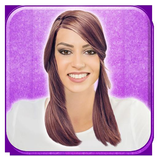 有名人のヘアスタイルフォトモンタージュ 攝影 App LOGO-APP試玩
