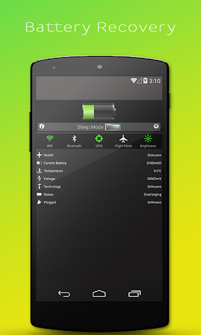 android Battery Recovery Master Screenshot 0