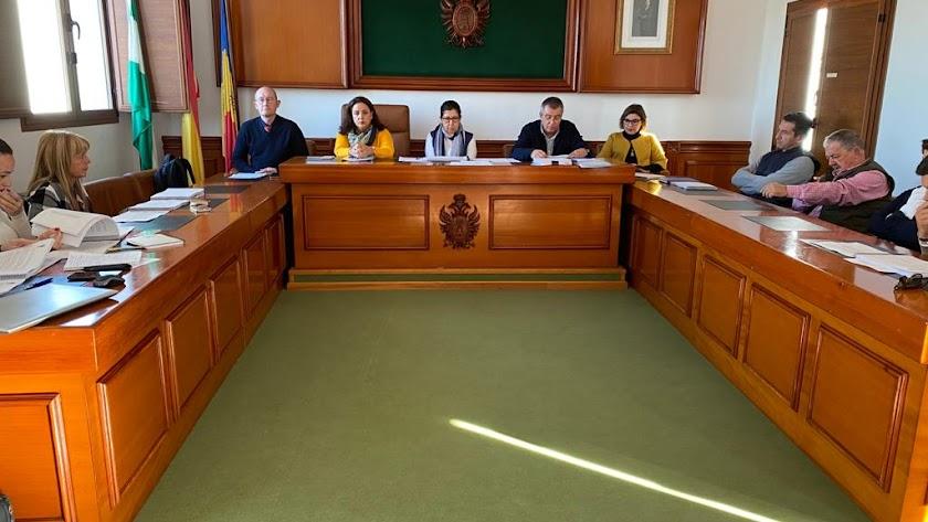 Sesión plenaria en la que fueron aprobados los presupuestos para 2020.