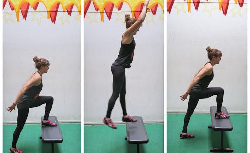 7 Leg Exercises Using A Box