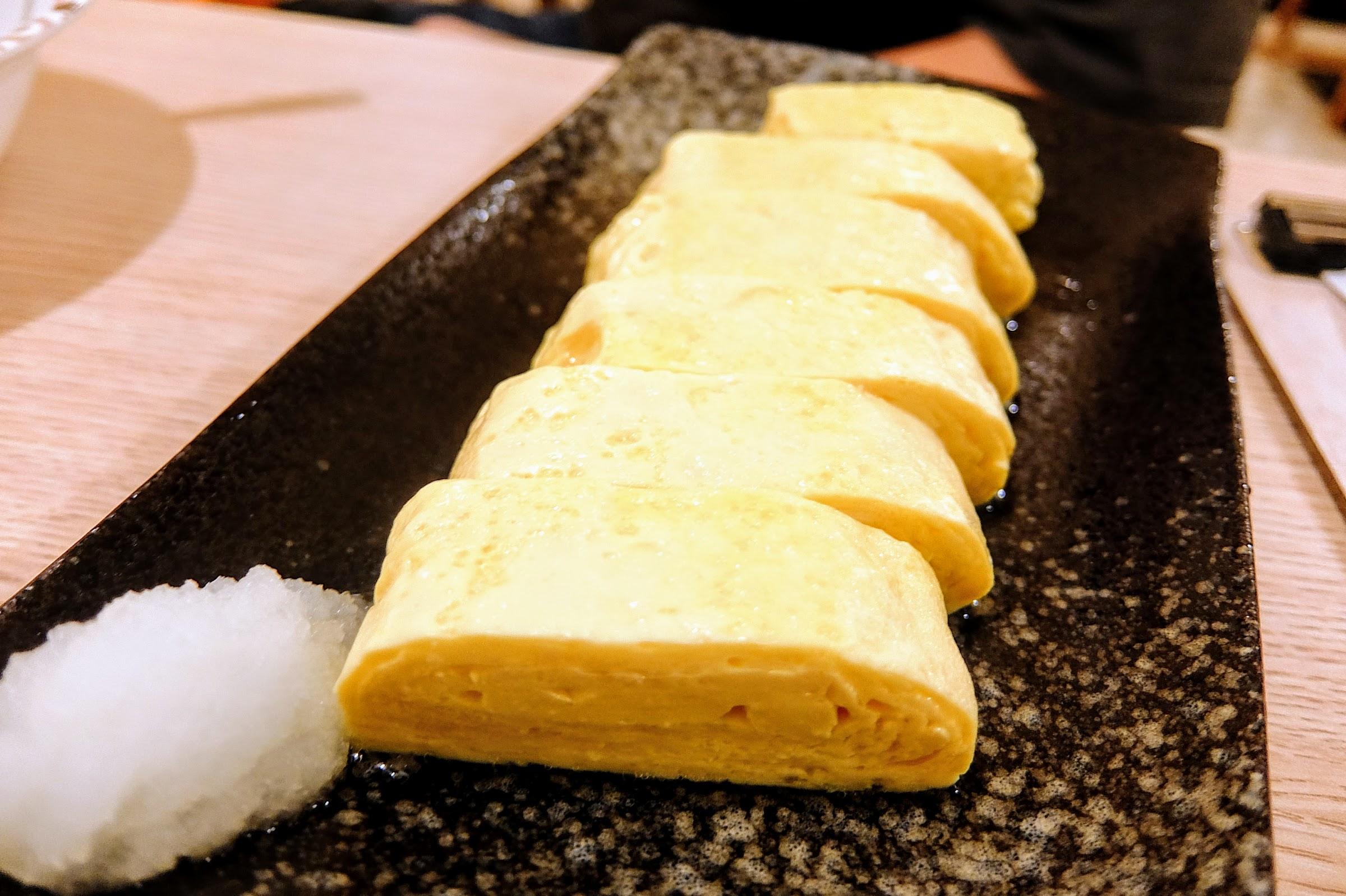 日式雞蛋捲,頗好吃的