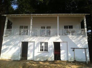 Photo: This is the Beach Staff Building. Downstairs is storage, upstairs are bedrooms. For Cottington Woods, this is not included in our site rental. Not sure if it can be rented, but if so, it is at least $100 per weekend.
