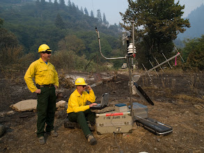 Photo: Northern California Fires of 2008