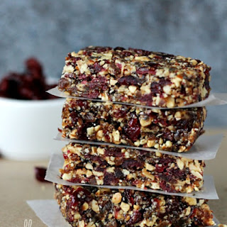 Simple Homemade Energy Snack Bar