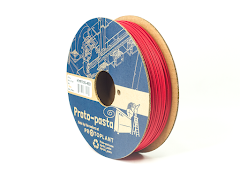 Proto-Pasta Red Matte Fiber HTPLA Filament - 1.75mm (0.5kg)