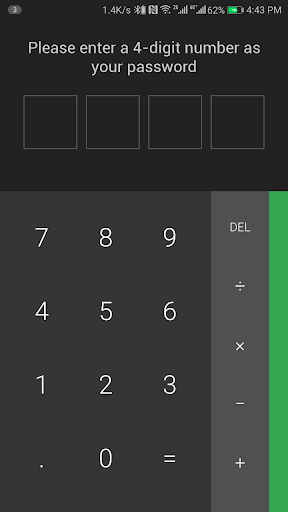 Calculator Vault : App Hider - Hide Apps 1.4.5 screenshots 4