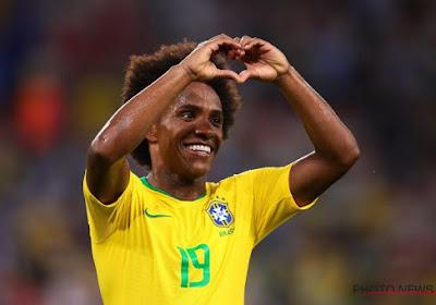Chelsea refuse de céder Willian au Barça contre de l'argent et un autre Brésilien