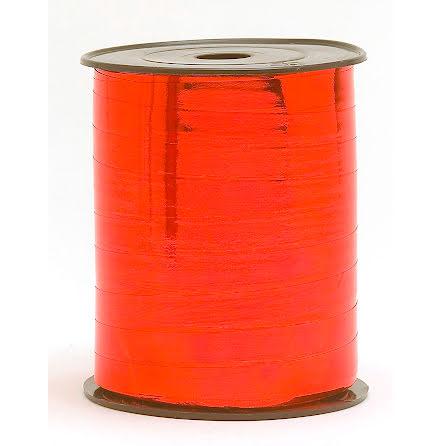 Presentband 10x250 metall  röd