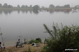 Photo: Dettmer Tank going upstream