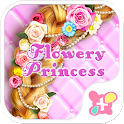 Cute Theme-Flowery Princess- icon