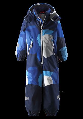 Reimatec Kiddo Snowy 520269B-6502 Brave Blue vinterdress