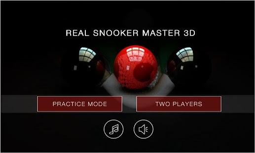 Real Snooker Pro Master 3D - náhled