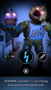 "Download Five Nights at Freddy's AR: Special Delivery  Android game ""Five Nights with Freddy: Augmented Reality""! 2"