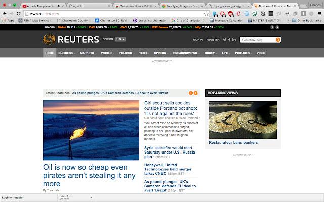 Onion Headlines