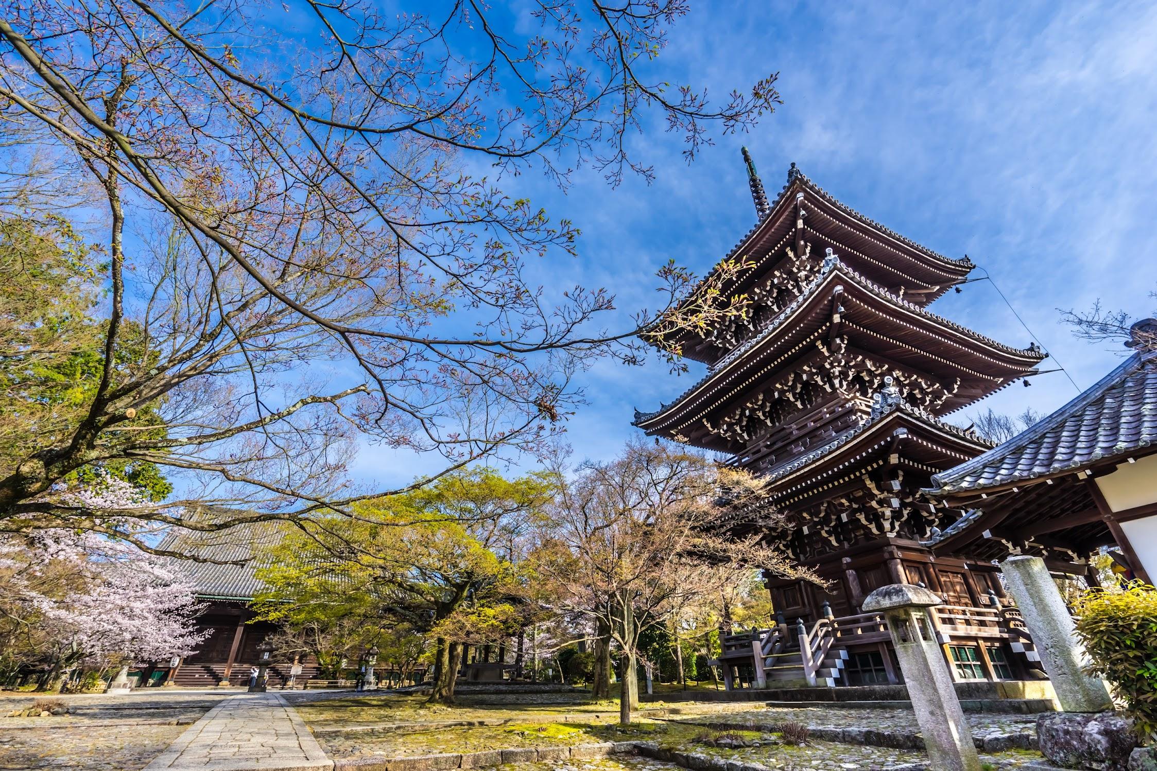 京都 真如堂 三重塔1