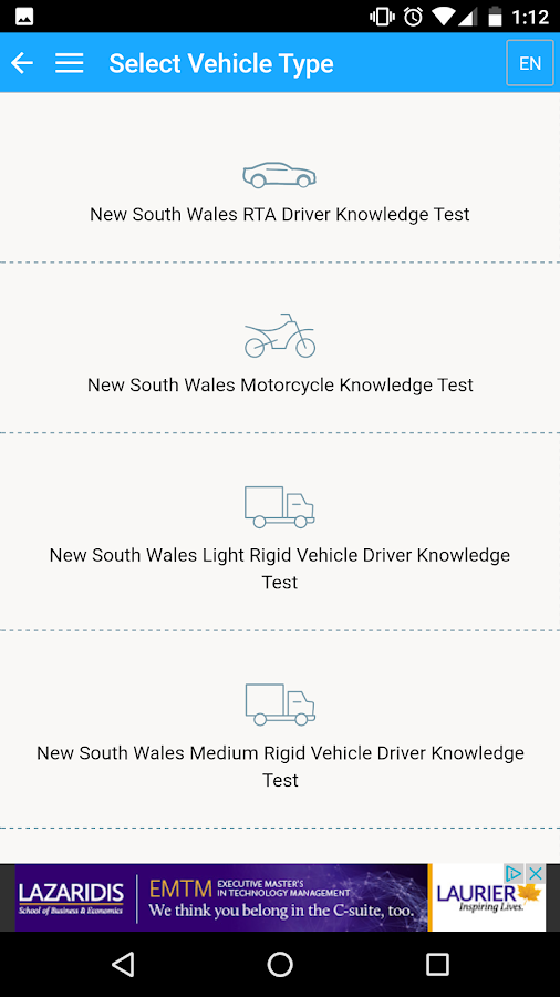 Australian Driving Tests- screenshot