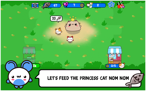 Princess Cat Nom Nom Evolution - screenshot