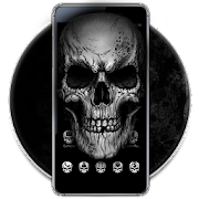 Black Death Skull Theme