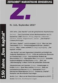 Titelseite der Zeitschrift «Z.111».