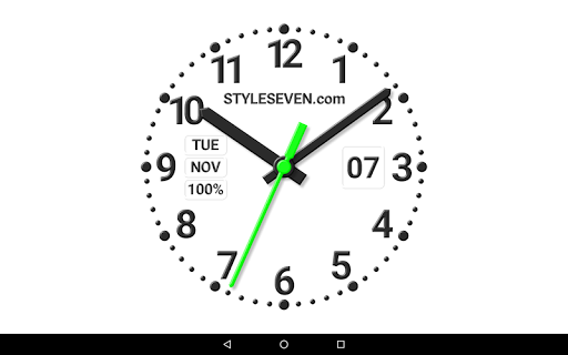 Download Analog Clock Constructor-7 Google Play softwares