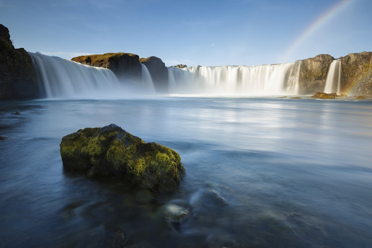 FIT FOR FANTASY: Godafoss waterfalls in Iceland is one of the locations for the TV series Game of Thrones.
