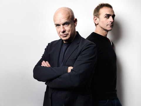 Eno • Hyde | Someday World | Album | Tracklist | Release Date | The Satellites | Brian Eno | Karl Hyde