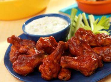 Hot Wings The Way I Do It! With Blue Cheese Dressing Or Ranch!