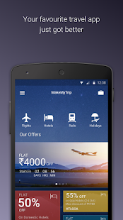 MakeMyTrip-Flights Hotel IRCTC- screenshot thumbnail