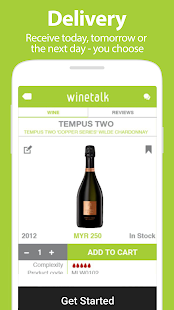 Wine Talk App : Shop for Wines- screenshot thumbnail