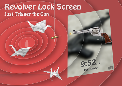 Revolver Lock Screen