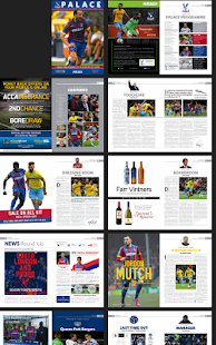 Crystal Palace FC - programmes- screenshot thumbnail