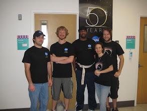 Photo: Devin, Kjell, Marcus, Heather, Deron