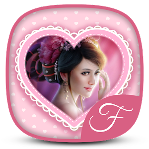 Girly Photo Frame World download