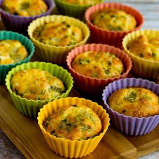 Green Chile and Cheese Egg Muffins.