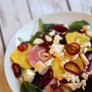 Beetroot Salad with Feta and Honey Vinaigrette