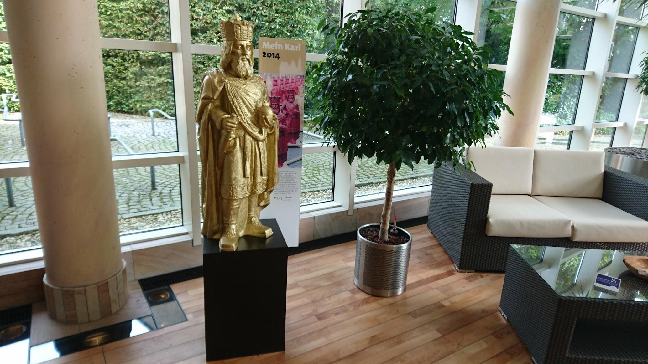 Carolus Thermen Bad Aachen Eingangsbereich Karl