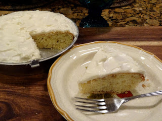 One Layer White Cake Recipe