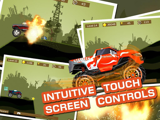 Mad Truck 2 -- physics monster truck hit zombie painmod.com screenshots 9