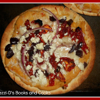 Greek Pita Pizza