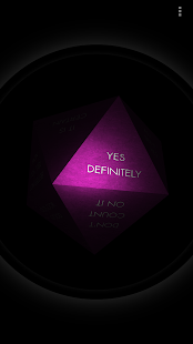 Magic 8 Ball 3D- screenshot thumbnail