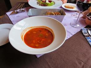 Photo: Lamb and tomato soup