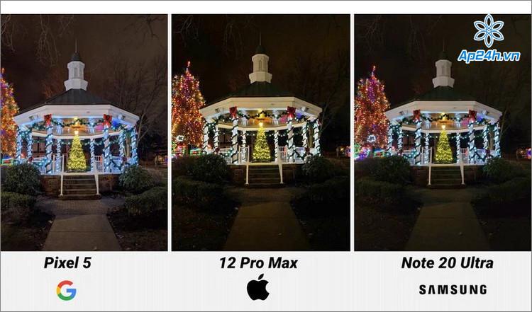 iPhone 12 Pro Max sử dụng các gam màu ấm cho ảnh