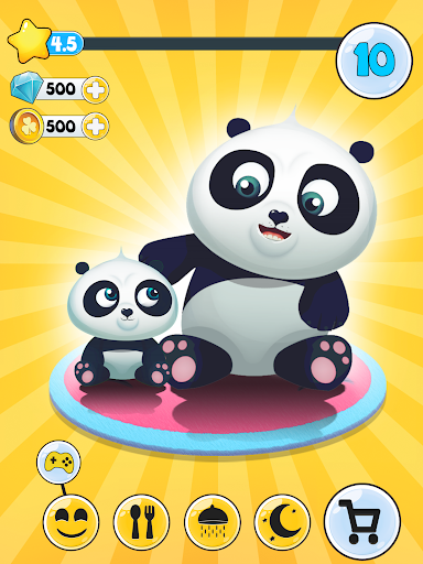 Panda - Fu the virtual animal app (apk) free download for Android/PC/Windows screenshot