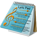 Lyric Pad. icon